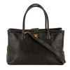 Chanel Black Caviar Leather Executive Cerf Tote Bag (Pre Owned)