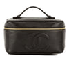 Chanel Black Caviar Leather Vanity Bag (Pre Owned)