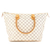 Louis Vuitton Damier Azur Canvas Saleya MM Bag (Pre Owned)
