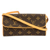 Louis Vuitton Monogram Canvas Pochette Twin PM Bag (Pre Owned)