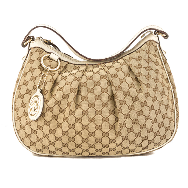 1a409d9ee5aa Gucci GG Monogram Canvas Large Sukey Tote (Pre Owned) - 3768002 | LuxeDH