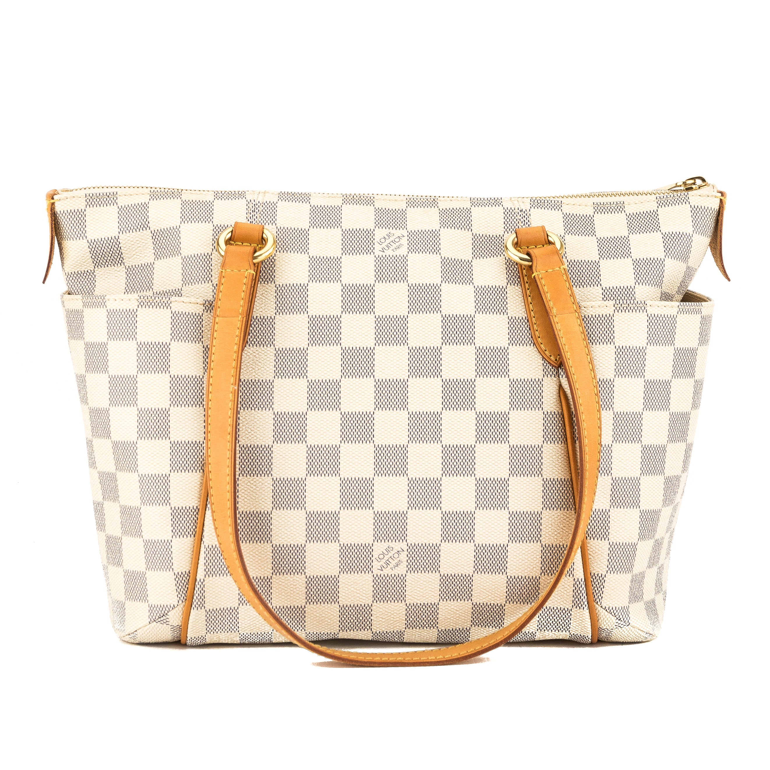 8032ac0f6de8 Louis Vuitton Damier Ebene Canvas Totally PM Bag (Pre Owned ...