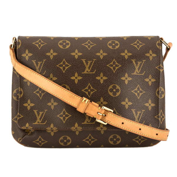 39b4e679566e Louis Vuitton Monogram Canvas Musette Tango Short Strap Bag Pre Owned