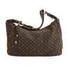 Louis Vuitton Ebene Monogram Mini Lin Canvas Manon PM Bag (Pre Owned)