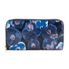 Louis Vuitton Grand Bleu Monogram Vernis Leather Ikat Flower Zippy Wallet (Pre Owned)