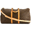 Louis Vuitton Monogram Canvas Keepall Bandouliere 55 Bag (Pre Owned)