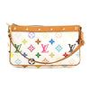Louis Vuitton White Monogram Canvas Multicolore Pochette Accessoires Bag (Pre Owned)