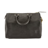 Louis Vuitton Noir Epi Leather Speedy 25 Bag (Pre Owned)