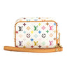 Louis Vuitton White Monogram Multicolore Canvas Trousse Wapity Case (Pre Owned)