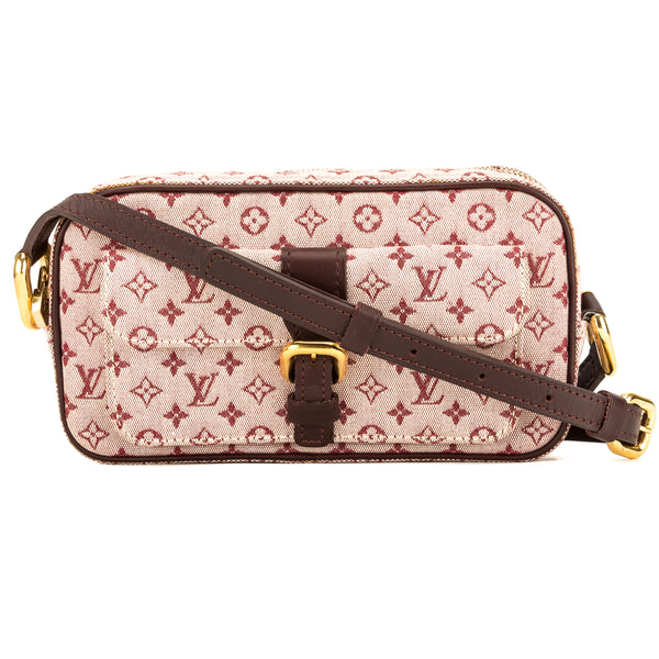 c645dd1bb8bc Louis Vuitton Cerise Monogram Mini Lin Canvas Juliette MM Bag Pre Owned