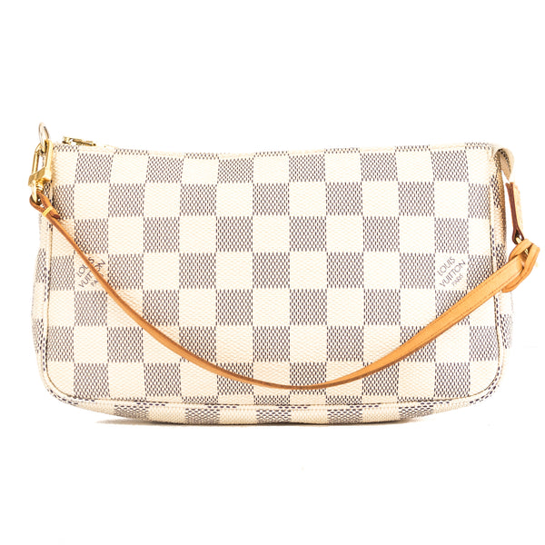 Louis Vuitton Damier Azur Canvas Pochette Accessoires Bag (Pre Owned)