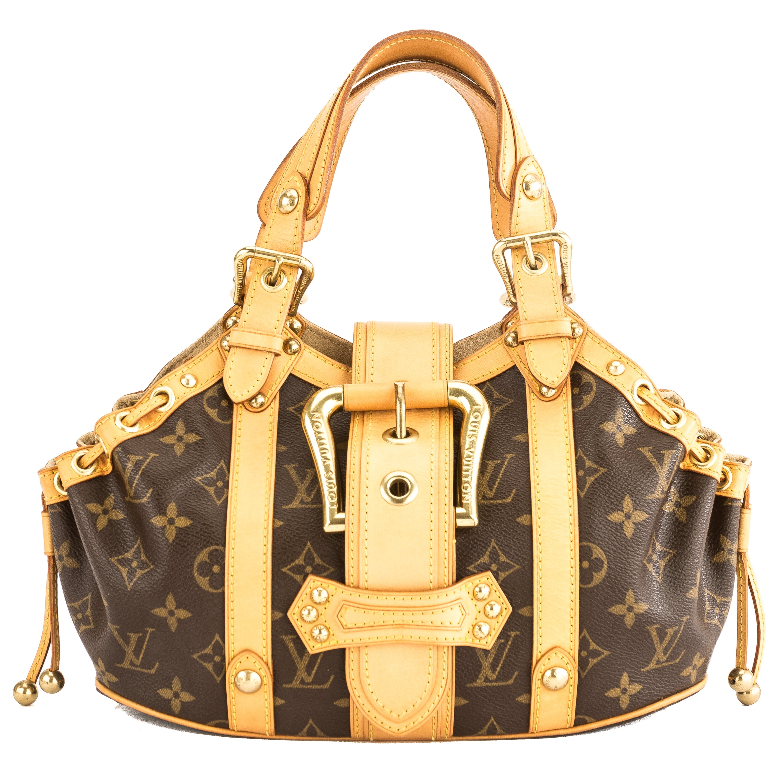 df01ad7235be Louis Vuitton Monogram Canvas Theda GM Bag (Pre Owned) - 3866011 ...