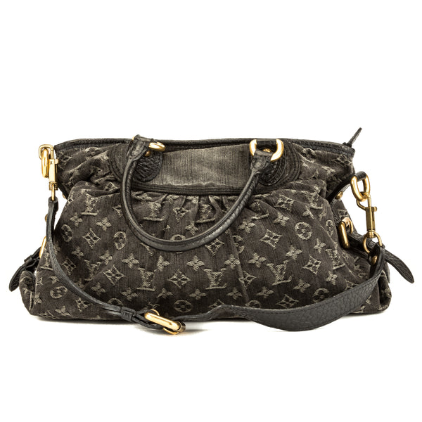 6f749427f0be Louis Vuitton Black Monogram Denim Neo Cabby MM (3894001) - 3894001 ...