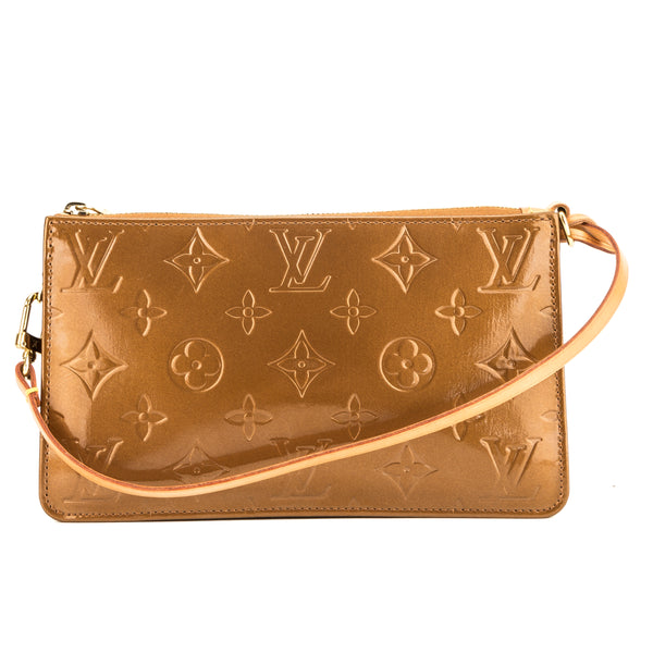 Louis Vuitton Bronze Monogram Vernis Lexington Pochette (3894004)