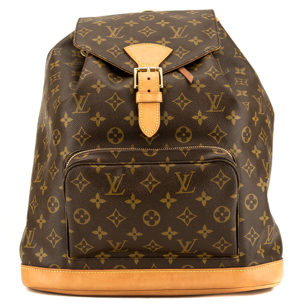 Louis Vuitton Monogram Canvas Montsouris GM Backpack (Pre Owned)