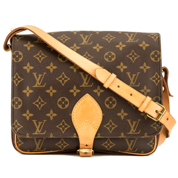 96493827 Louis Vuitton Monogram Canvas Cartouchiere GM Bag (Pre Owned)