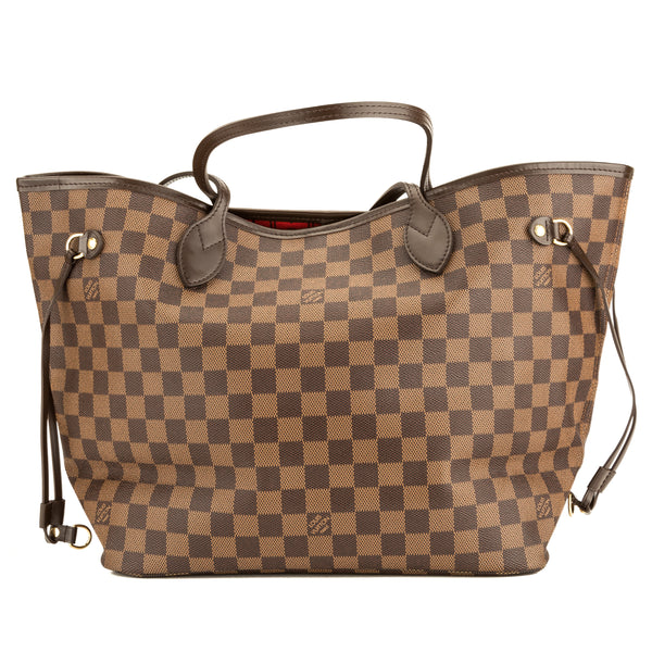 97223aed2b4e Louis Vuitton Damier Ebene Canvas Neverfull MM Bag (Pre Owned ...