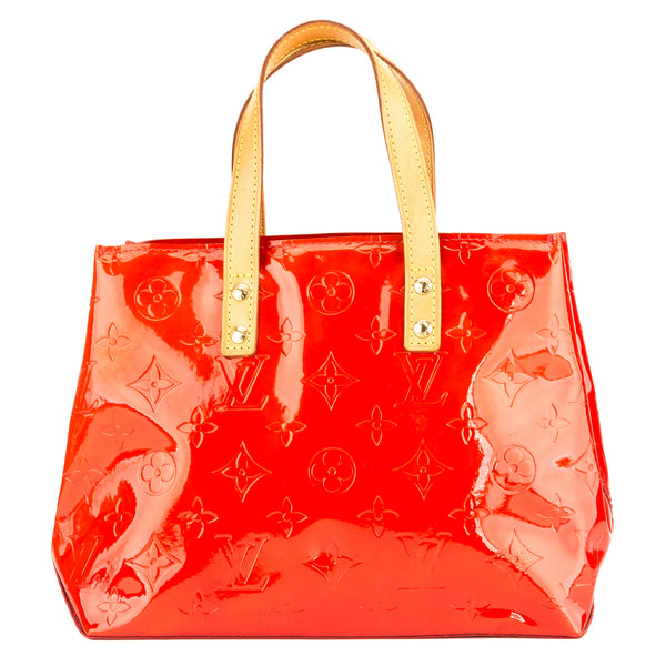 bdddfa854 Louis Vuitton Red Monogram Vernis Reade PM (3918005) - 3918005 | LuxeDH