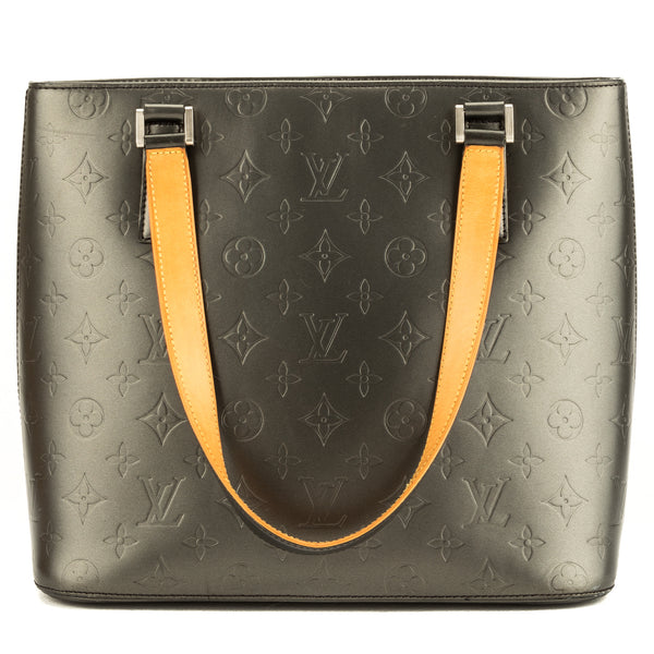 Louis Vuitton Steel Monogram Mat Stockton (3927013)