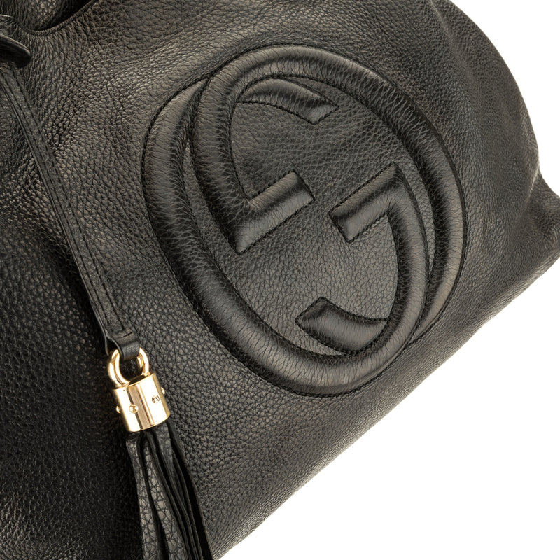 Gucci Black Soho Shoulder Bag (3932001)