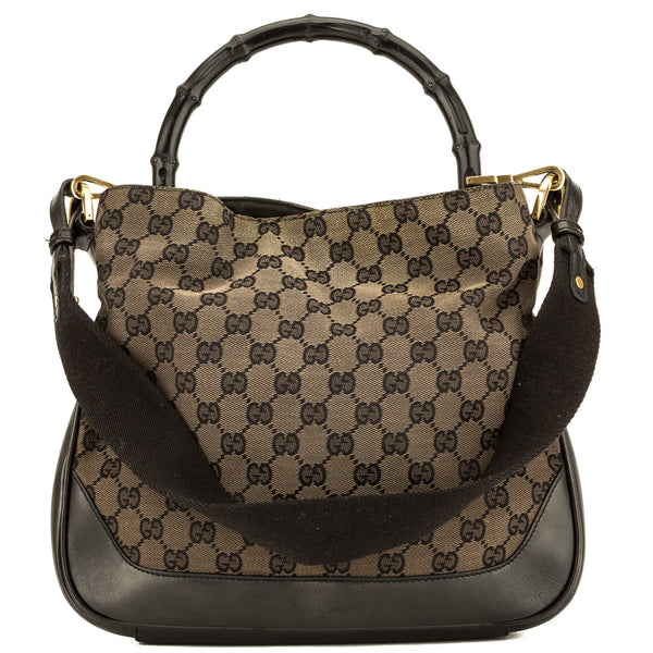 Gucci GG Monogram Bambo Top Handle (3935001)