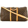 Louis Vuitton Monogram Keepall Bandouliere 55 (3937011)