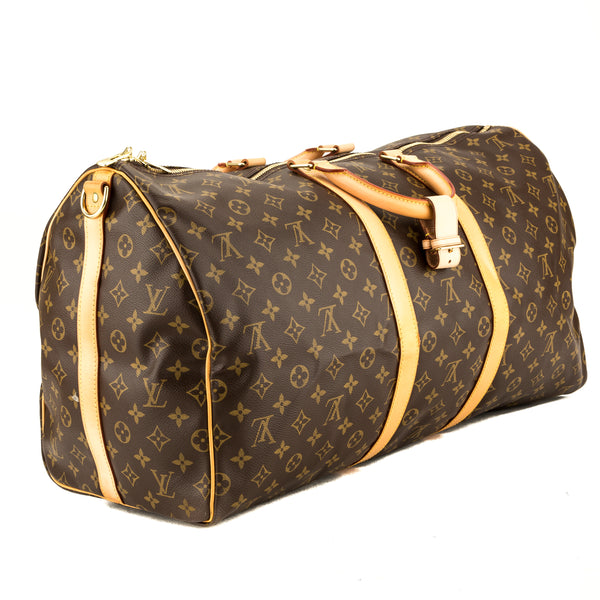 Louis Vuitton Monogram Keepall Bandouliere 55 (3938022)