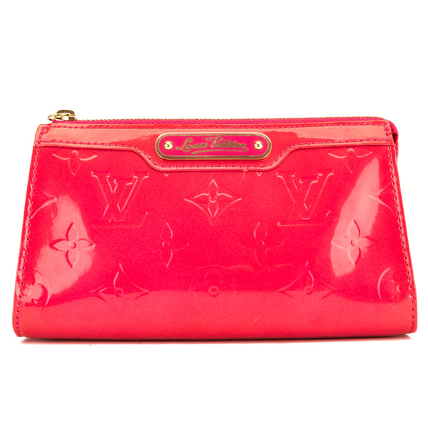 Louis Vuitton Rose Pop Monogram Vernis Trousse Cosmetic Pouch (3938036)