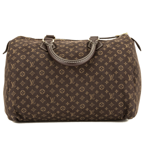Louis Vuitton Ebene Monogram Idylle Speedy 30 (3940007)
