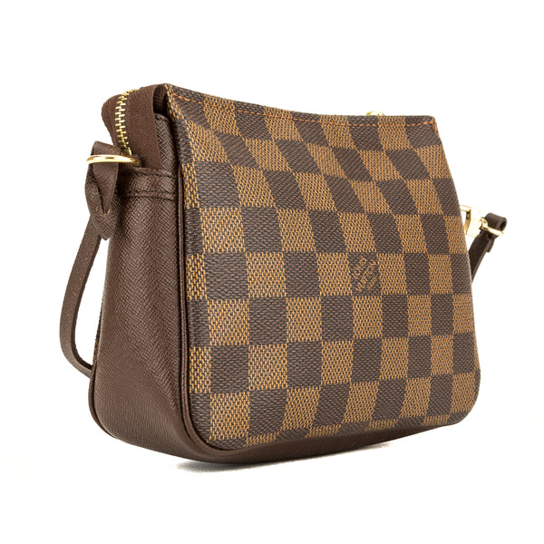 Louis Vuitton Damier Ebene Trousse Cosmetic Tote (3942002)