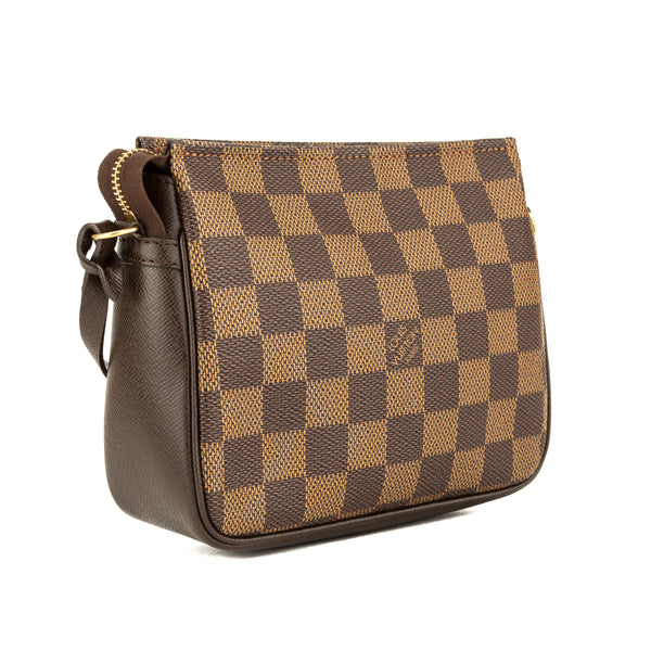 Louis Vuitton Damier Ebene Trousse Cosmetic Tote (3942003)