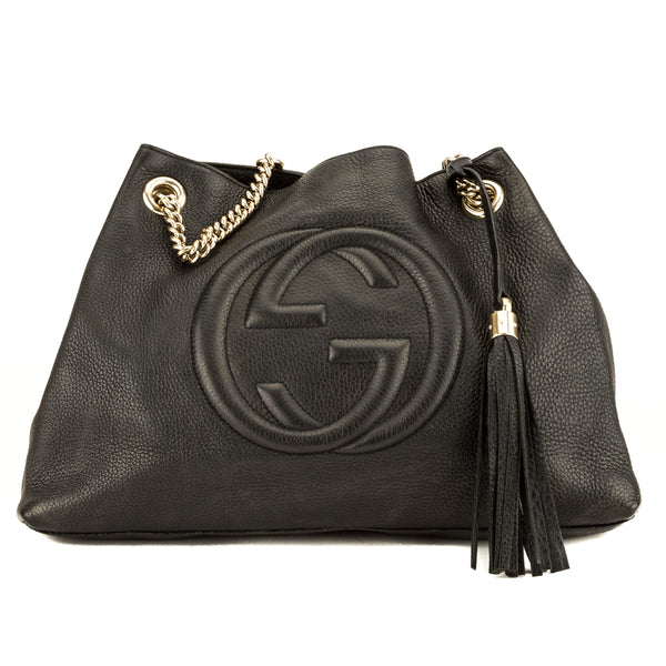 Gucci Black Soho Shoulder Bag (3946010)