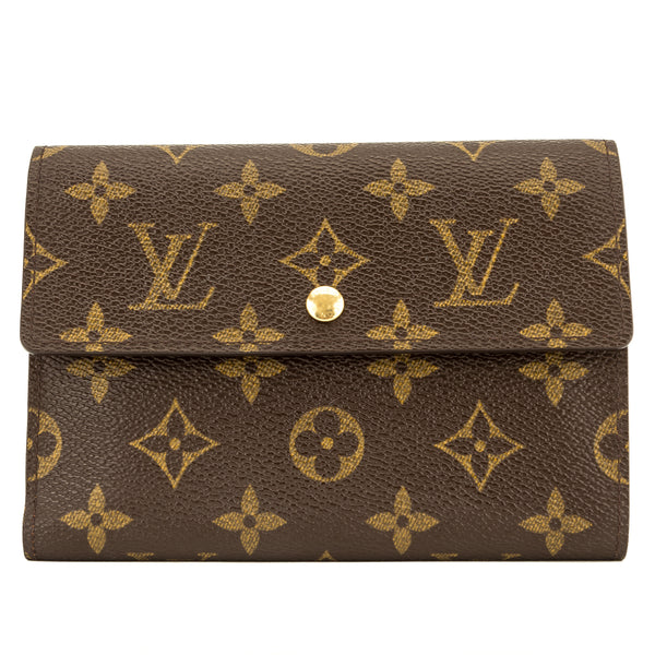 Louis Vuitton Monogram Porte-Papier Zip Wallet (3946020)