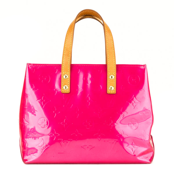 Louis Vuitton Rose Pop Monogram Vernis Reade PM (3946024)