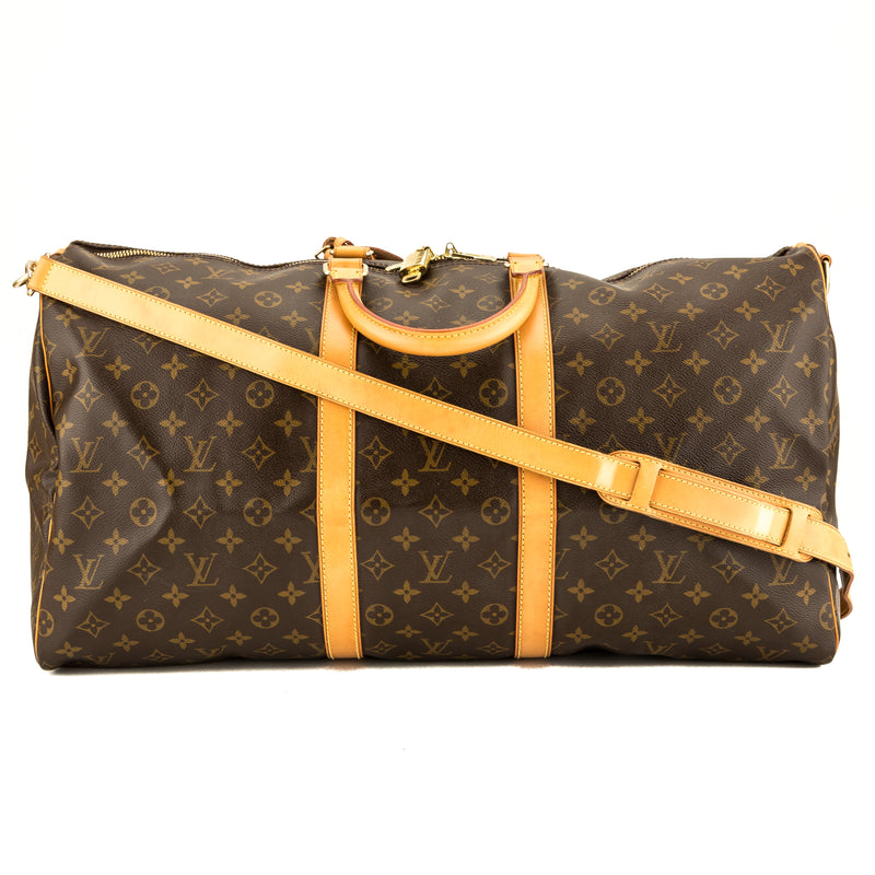 Louis Vuitton Monogram Keepall Bandouliere 55 (3946026)