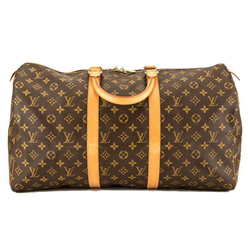 Louis Vuitton Monogram Keepall Bandouliere 50 (3947015)