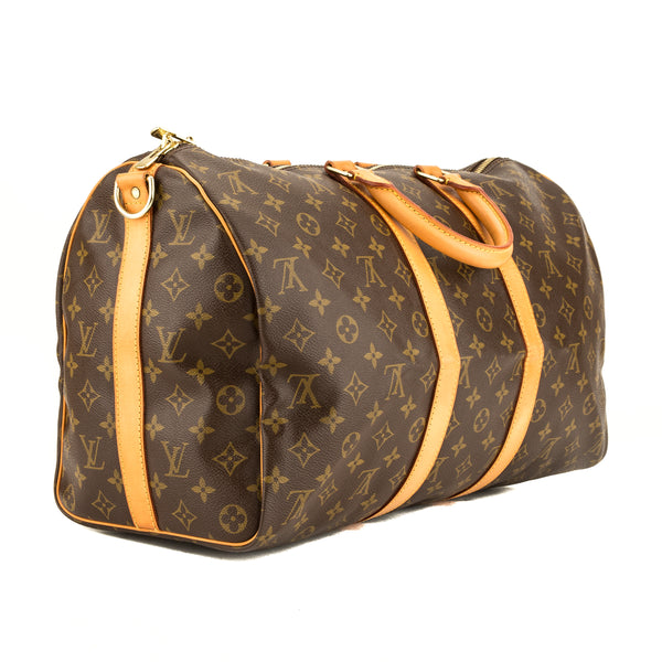 Louis Vuitton Monogram Keepall Bandouliere 45 (3947036)