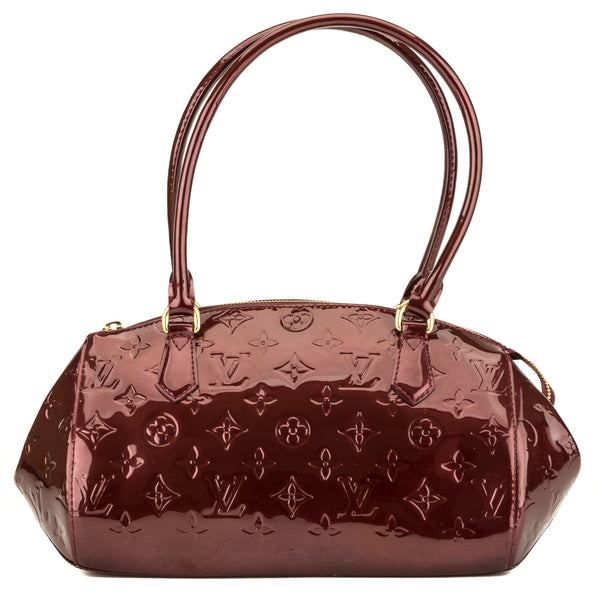 Louis Vuitton Amarante Monogram Vernis Sherwood PM (3948010)