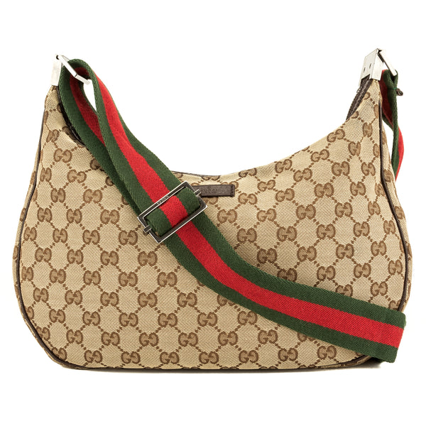 Gucci GG Monogram Web Shoulder (3948021)