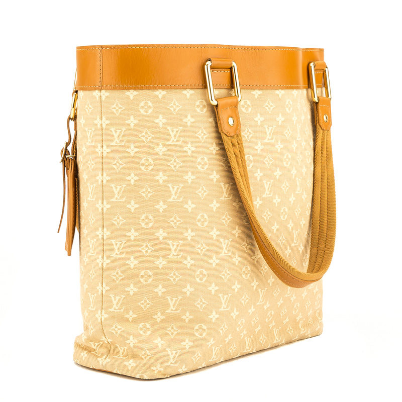 Louis Vuitton Beige Monogram Mini Lin Lucille GM (3950014)