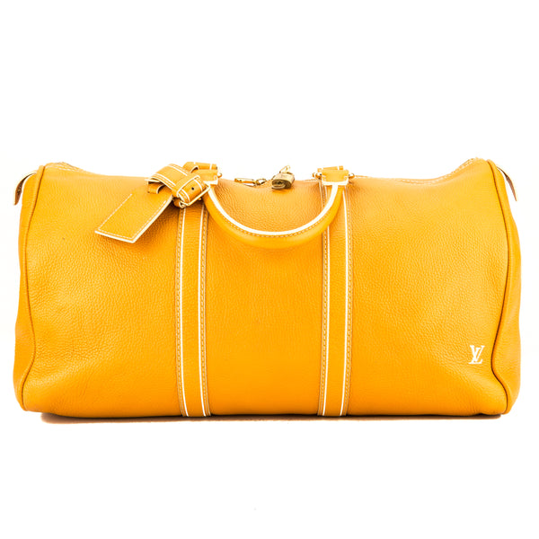 Louis Vuitton Limited Edition Orange Tobago Keepall 50 (3950036)