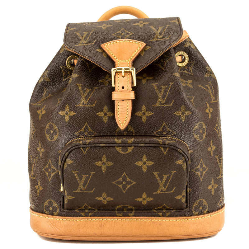 Louis Vuitton Monogram Montsouris PM Backpack (3952009)