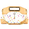 Louis Vuitton White Monogram Multicolore Judy MM (3953007)