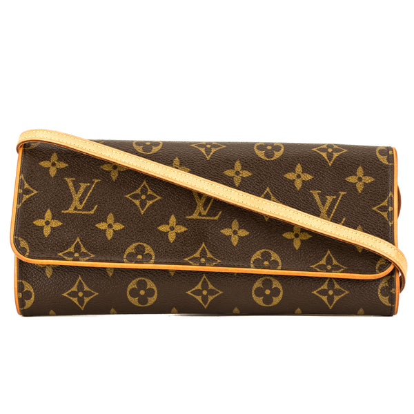60bf9b80e5ac Louis Vuitton Monogram Pochette Twin GM (3953016) - 3953016   LuxeDH
