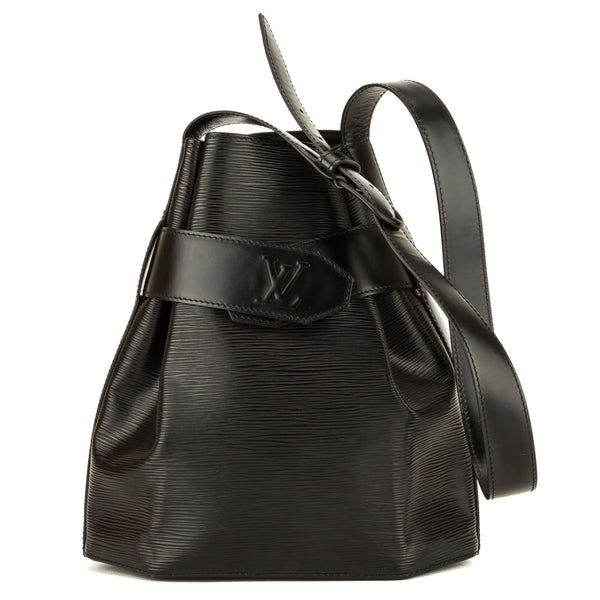Louis Vuitton Noir Epi Sac D'Epaule PM (3965039)