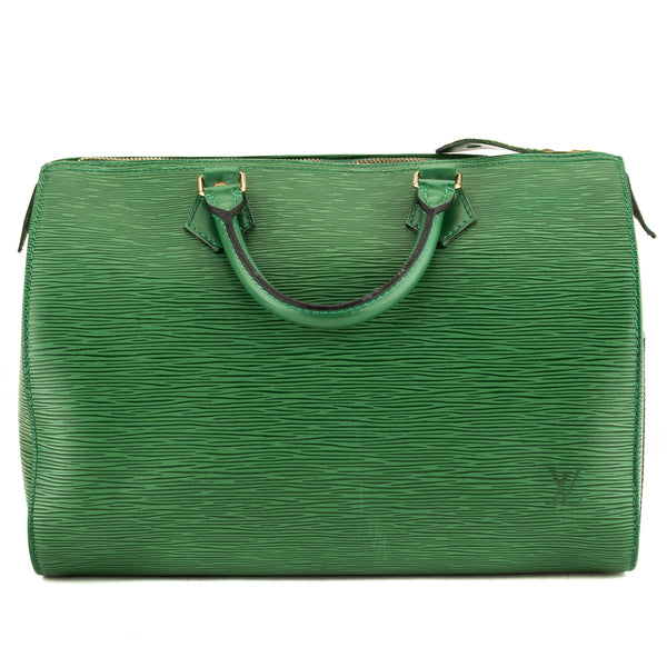 Louis Vuitton Borneo Green Epi Speedy 30 (3969008)