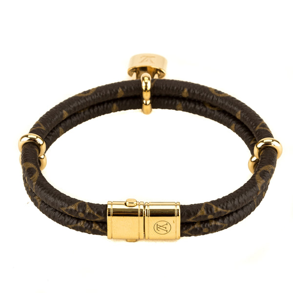 Louis Vuitton Monogram Keep It Twice Bracelet (3973002)