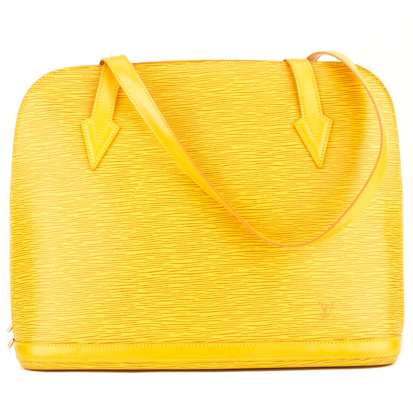 Louis Vuitton Tassil Yellow Epi Lussac (3973004)