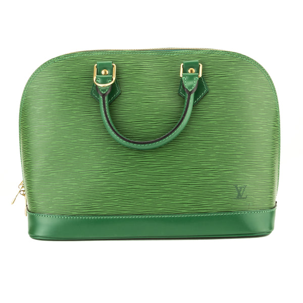 Louis Vuitton Borneo Green Epi Alma PM (3981004)