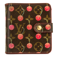 3b331e2c7652 Louis Vuitton Monogram Cherry Porte-Tresor Wallet